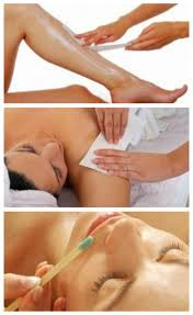 waxing and hair removal service